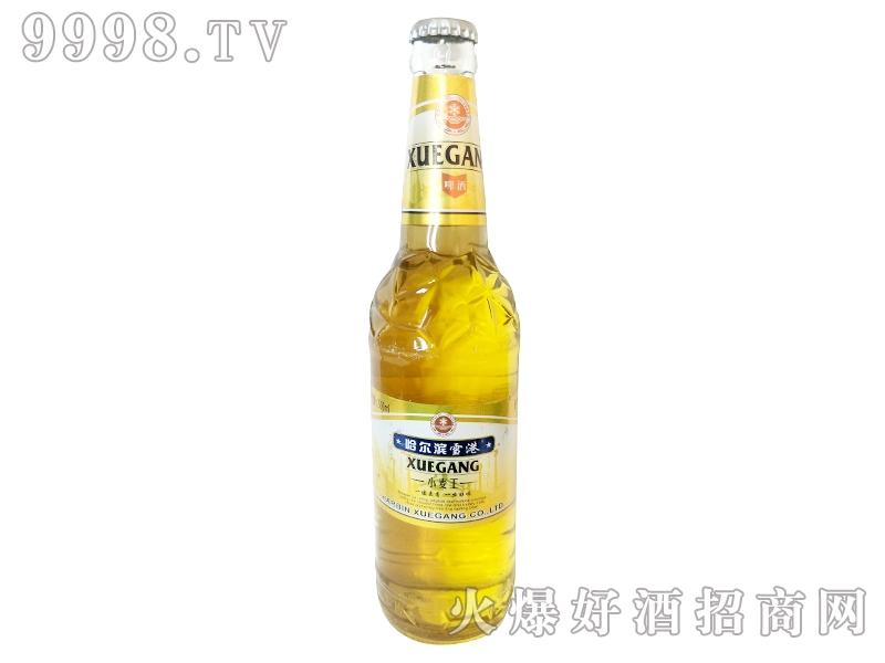 哈尔滨雪港啤酒小麦王瓶装