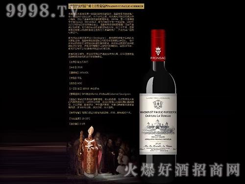圣堡罗克庄园勇士干红葡萄酒