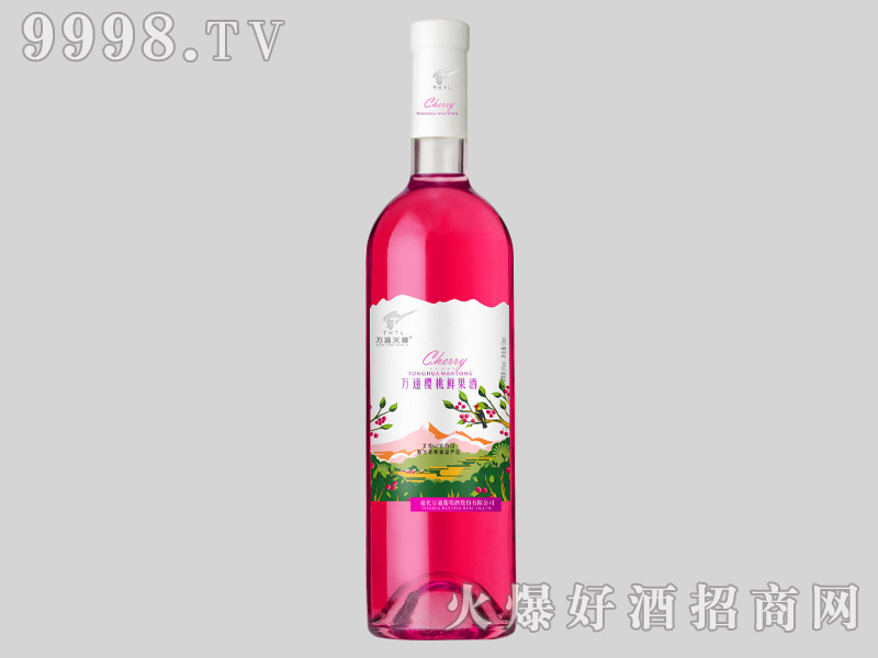 万通樱桃鲜果酒750ml