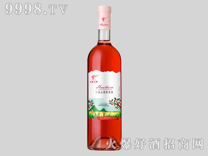 万通山楂鲜果酒750ml