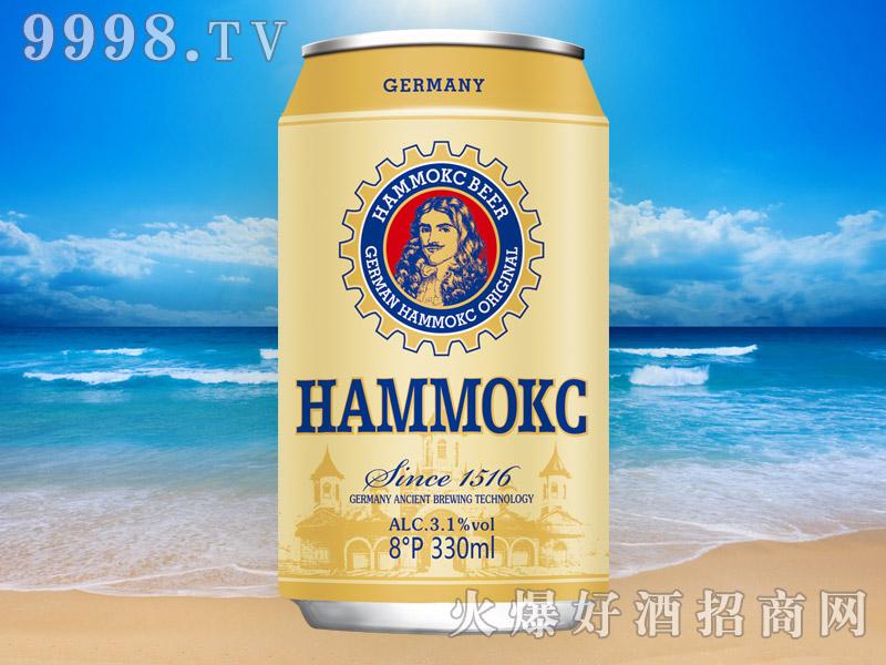 德国汉姆原酿啤酒8°330ml