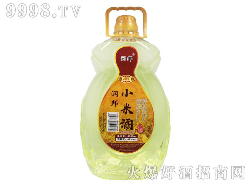 润邦小米酒42°4000ml-白酒招商信息