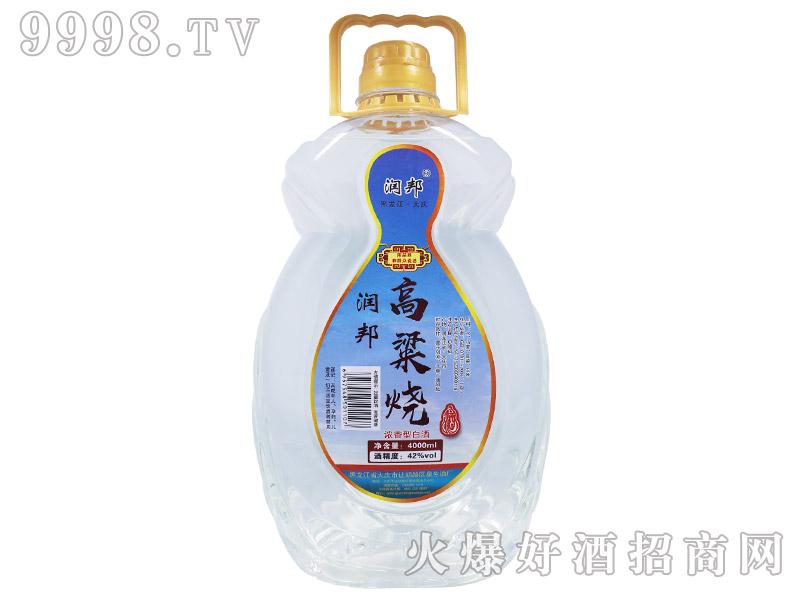 润邦高粱烧酒42°4000ml-白酒招商信息