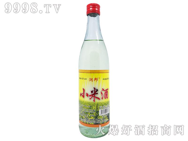 润邦小米酒42°500ml-白酒招商信息