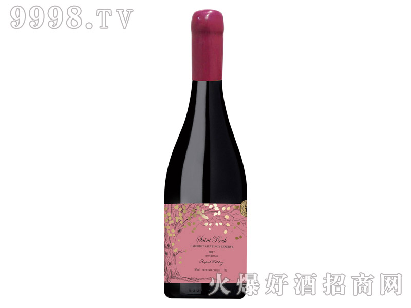 圣洛克古树珍藏赤霞珠干红葡萄酒