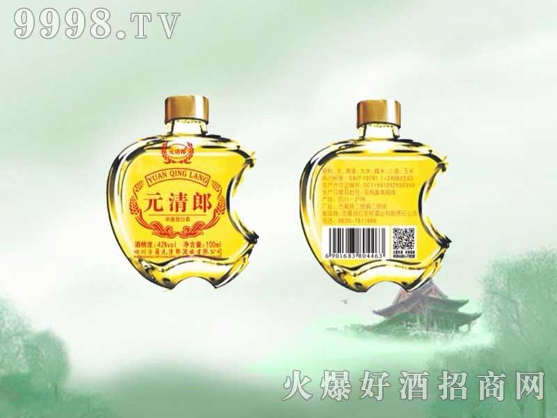 元清郎白酒100ml(黄瓶)