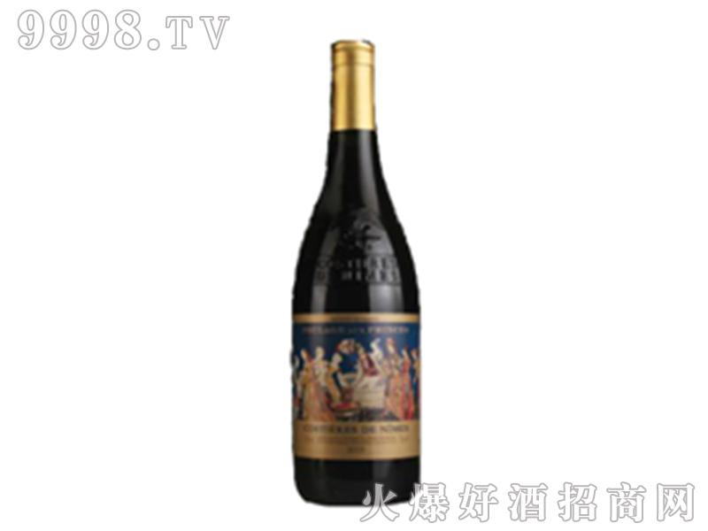 法国弗兰格王子干红葡萄酒