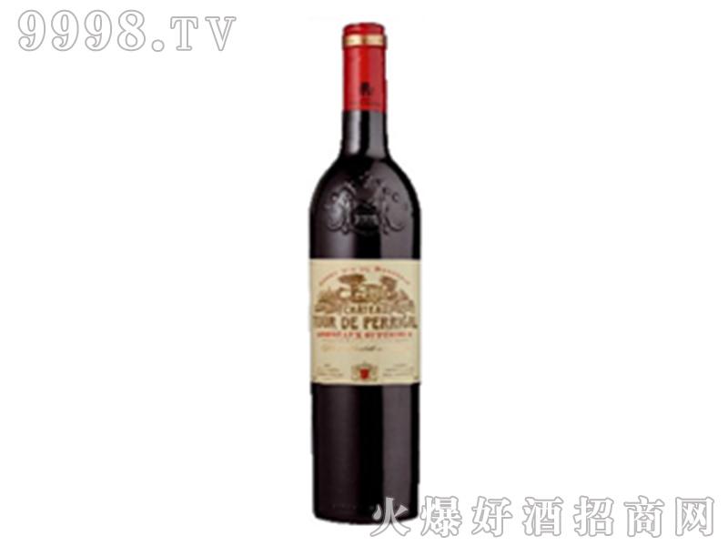 法国波尔格城堡干红葡萄酒