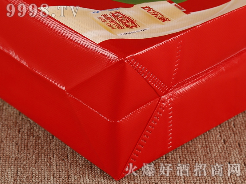 石家庄千色包装红布袋-机械包装信息