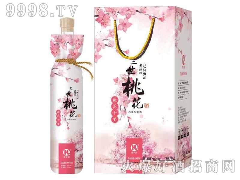 海乐园三世桃花酒375ml×6瓶