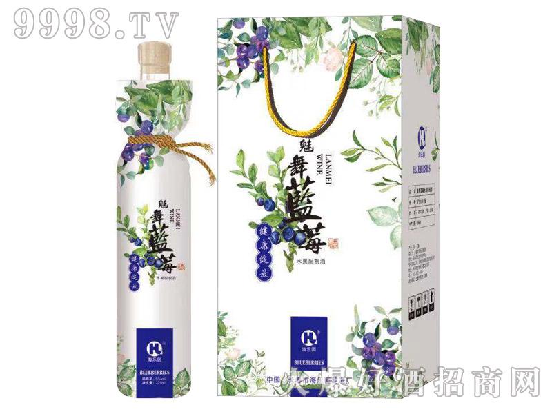 海乐园魅舞蓝莓酒375ml×6瓶