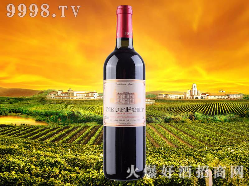法国莫纳斯干红葡萄酒