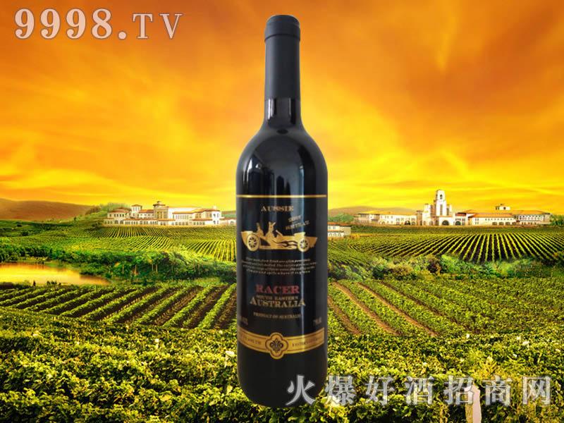 澳洲・赛车手金袋鼠西拉干红葡萄酒
