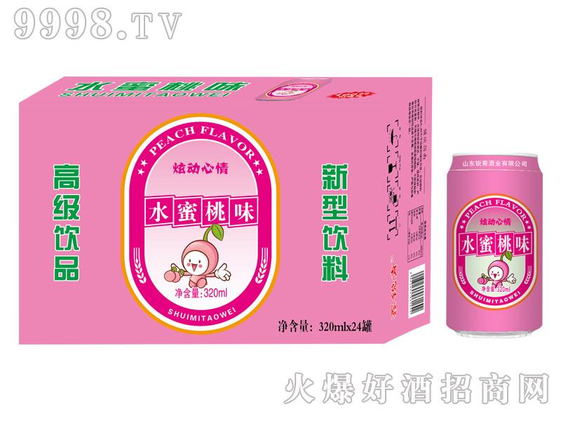 320ml×24罐锐青水蜜桃味碳酸饮料