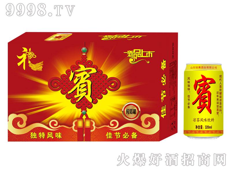 320ml×24罐汉斯时光凉茶