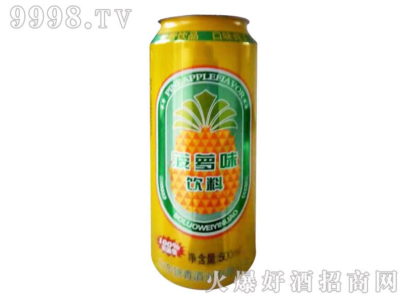 500ml锐青菠萝啤