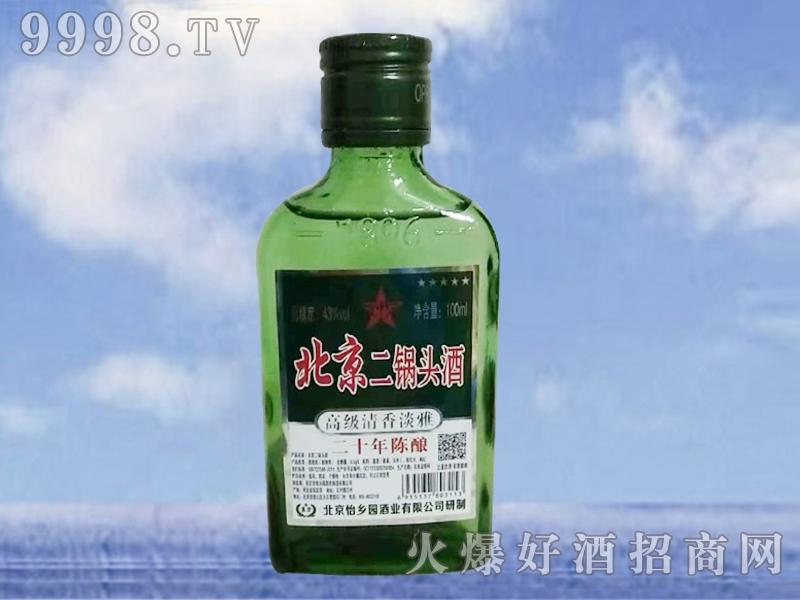 北京二锅头酒陈年二十100ML