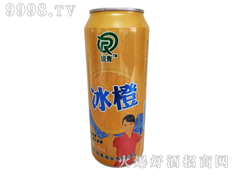 500ml×24罐锐青冰橙橙汁