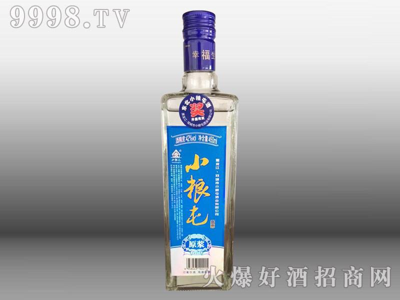 小粮屯原浆酒蓝标