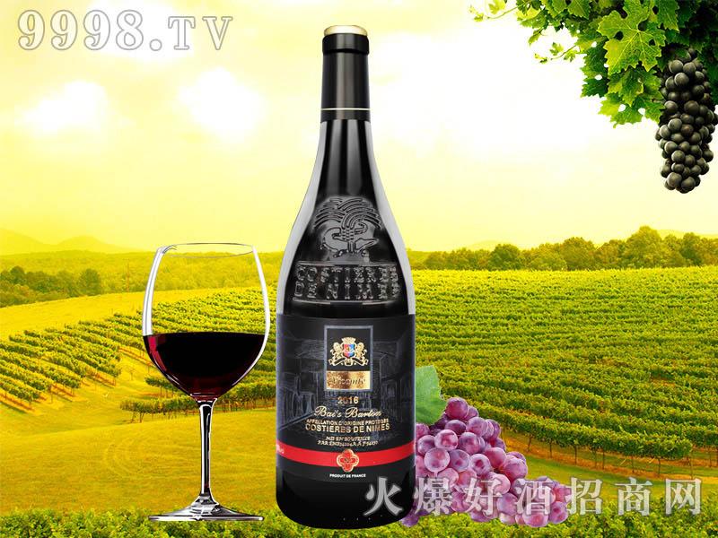 柏斯巴顿子爵干红葡萄酒