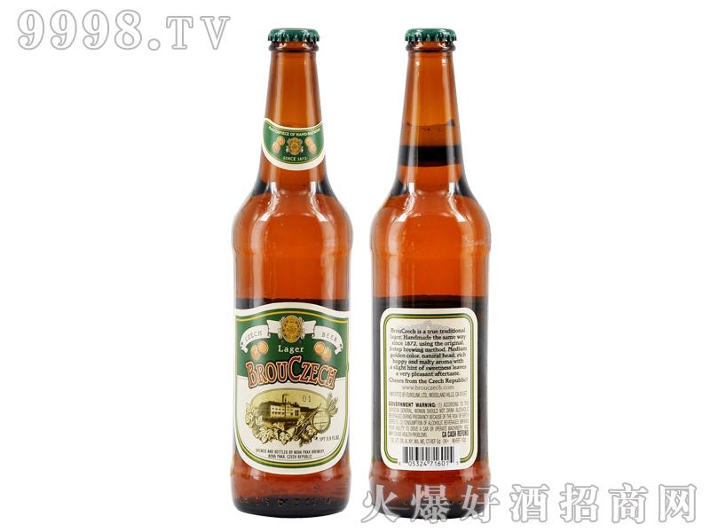 布鲁杰克拉格啤酒500ml黄啤