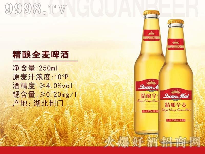 金龙泉精酿全麦啤酒250ML