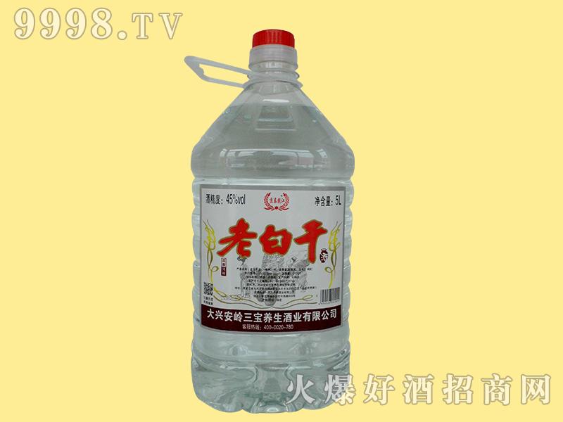 京泰龙江45度5升老白干