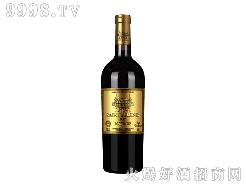 拉图圣莫伯特・圣纳泽干红葡萄酒