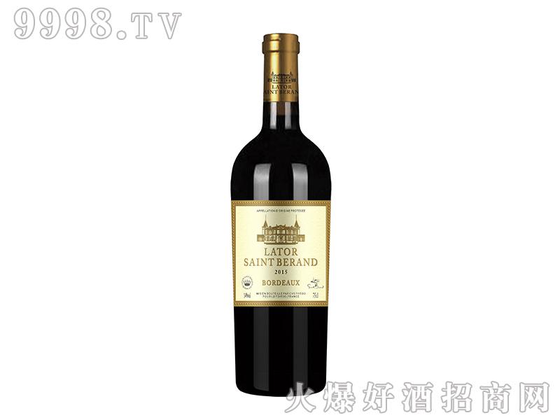 拉图圣莫伯特・艾巴诺干红葡萄酒
