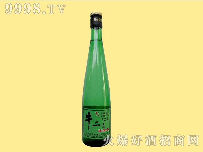 牛二古法陈酿酒43度480ml