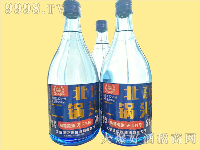 京泰北京二锅头750ml蓝瓶
