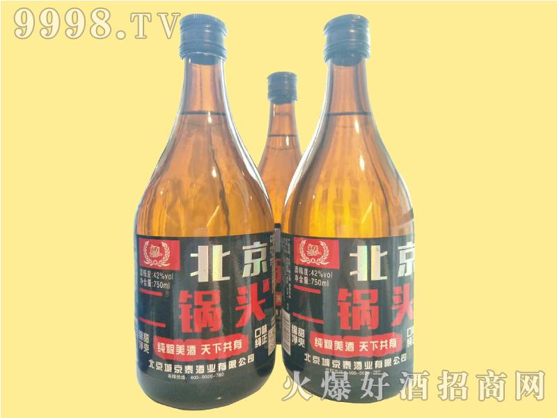 京泰北京二锅头750ml棕瓶