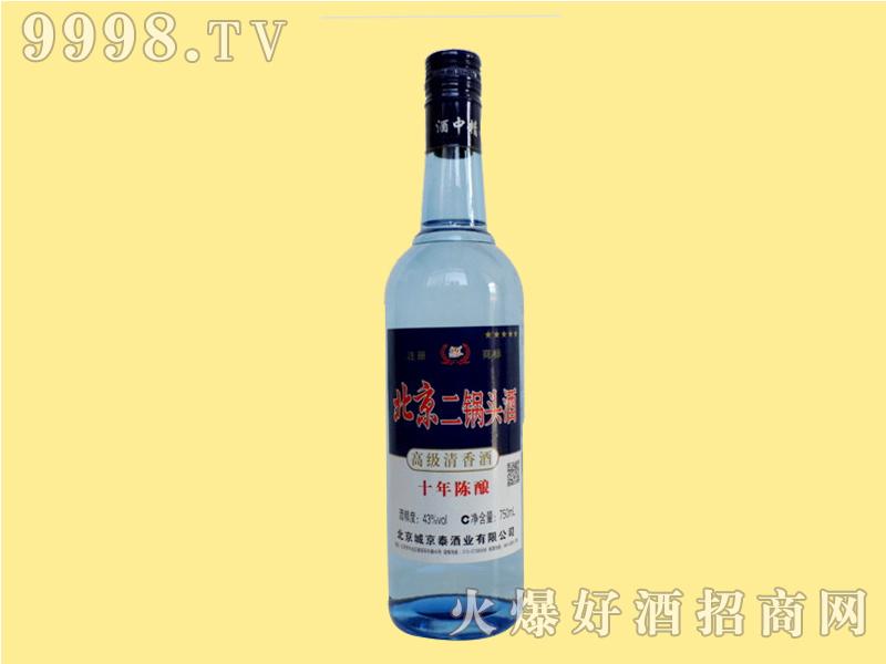 北京二锅头蓝瓶43度一斤半