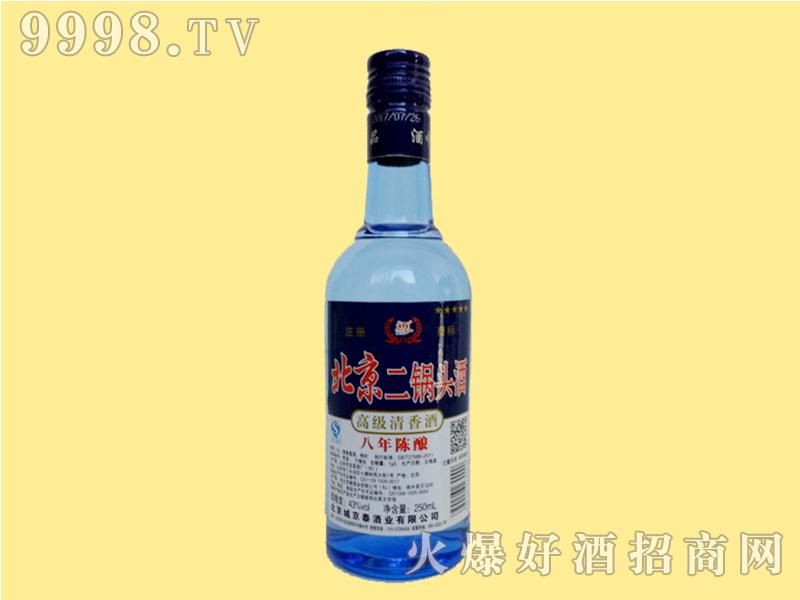 京泰二锅头蓝瓶43度半斤