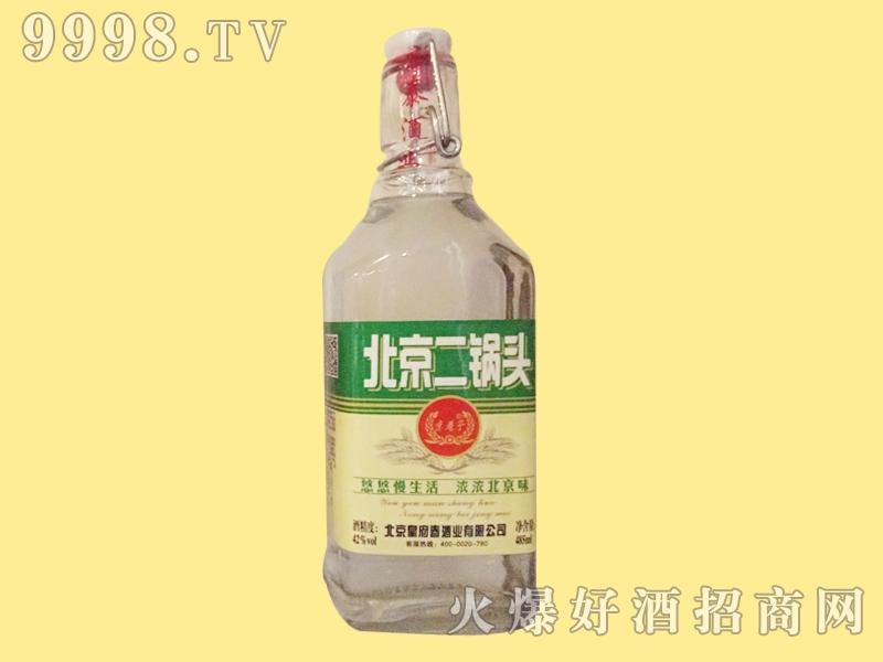 皇府春酒北京二锅头绿