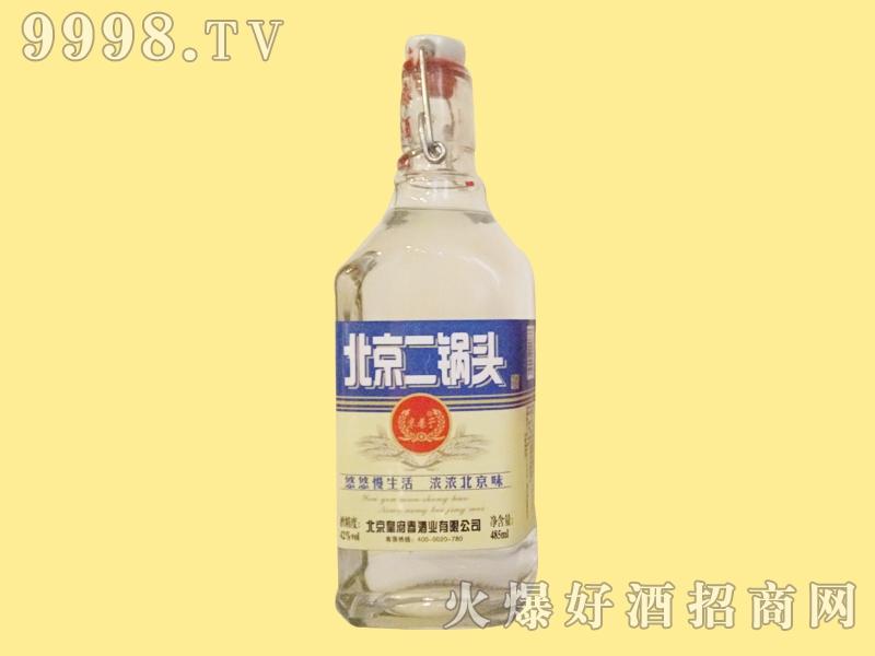 皇府春酒北京二锅头蓝