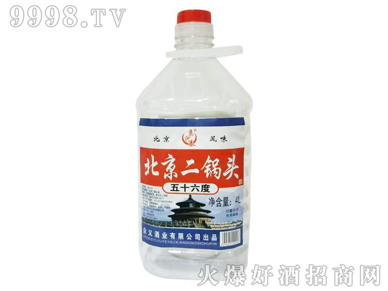 京河春北京二锅头4L