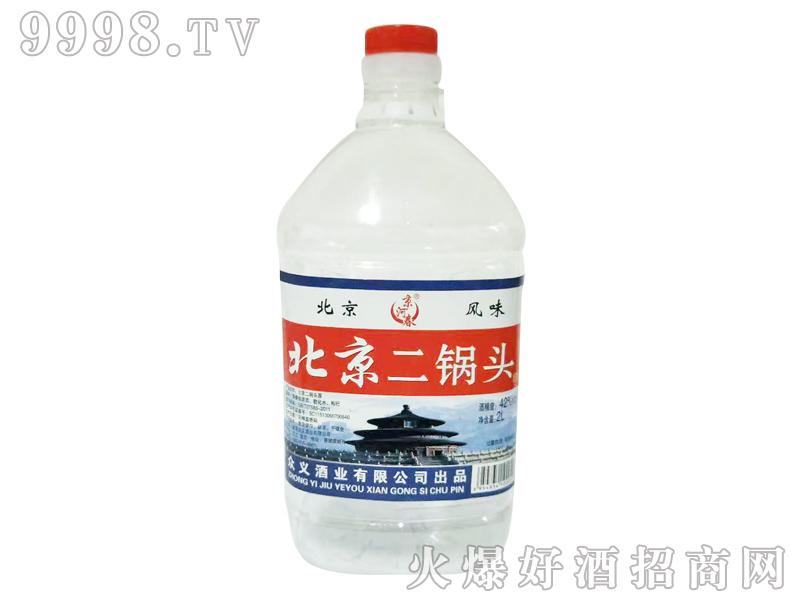 京河春北京二锅头42度2L