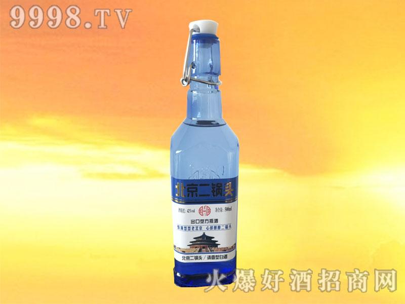皇城门出口型方瓶二锅头42°500ml
