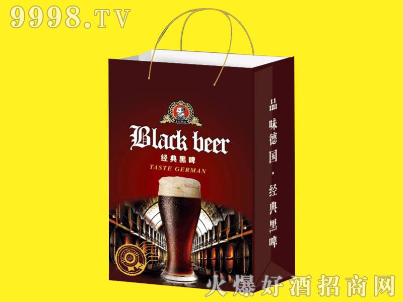 招商产品:中麦啤酒-经典黑啤手提袋%>&#13招商公司:山东中麦啤酒有限公司