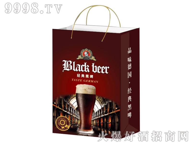 中麦啤酒-经典黑啤手提袋