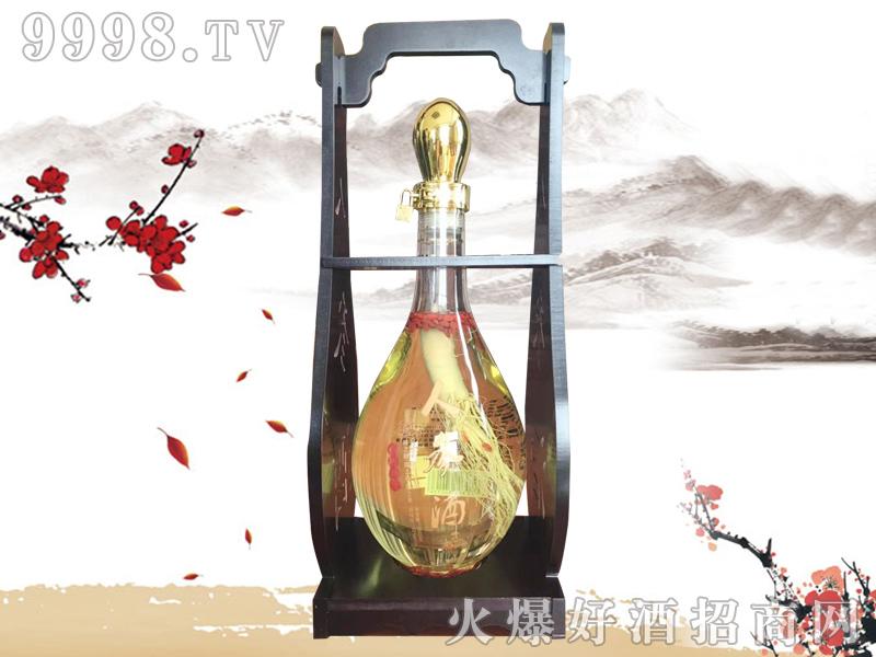 郑家坊人参酒42度3.5L-好酒招商信息
