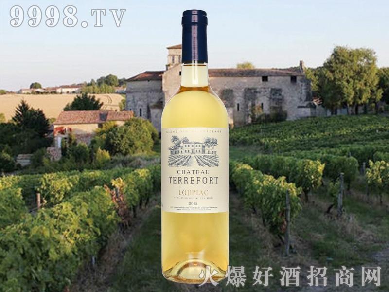 蒂芙干白葡萄酒2012