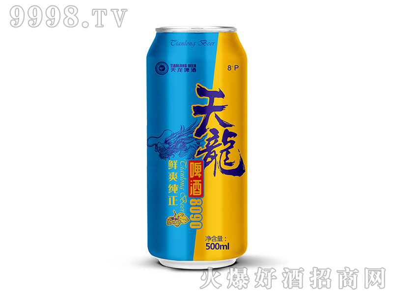 天龙8090啤酒500ml