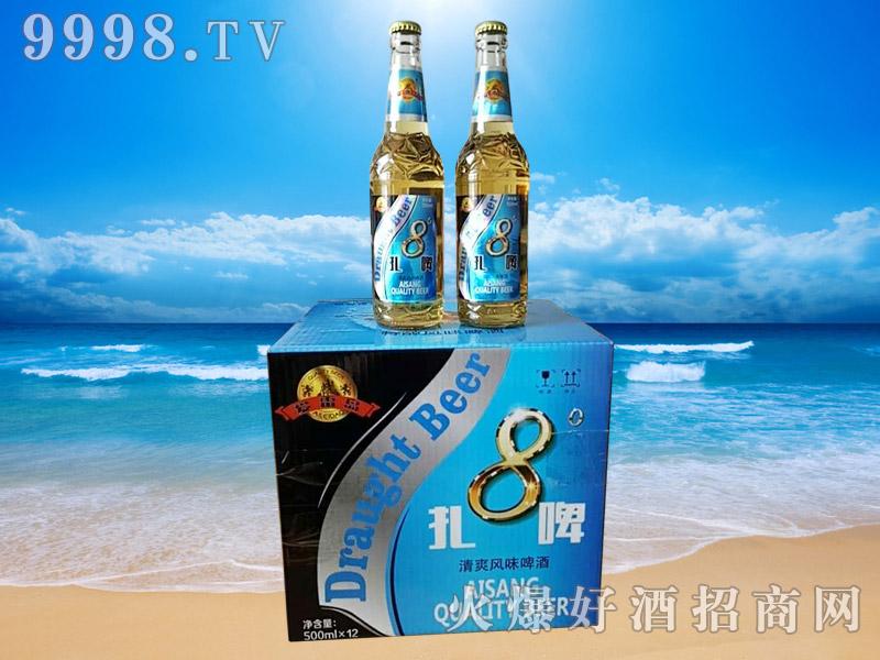 爱雷岛8°扎啤500ml×12瓶