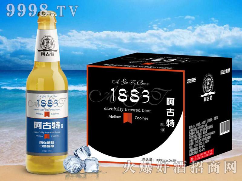 阿古特啤酒蓝标330ml×24瓶