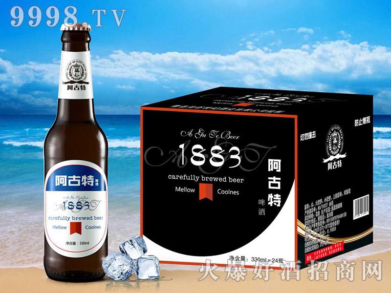 阿古特啤酒白标330ml×24瓶
