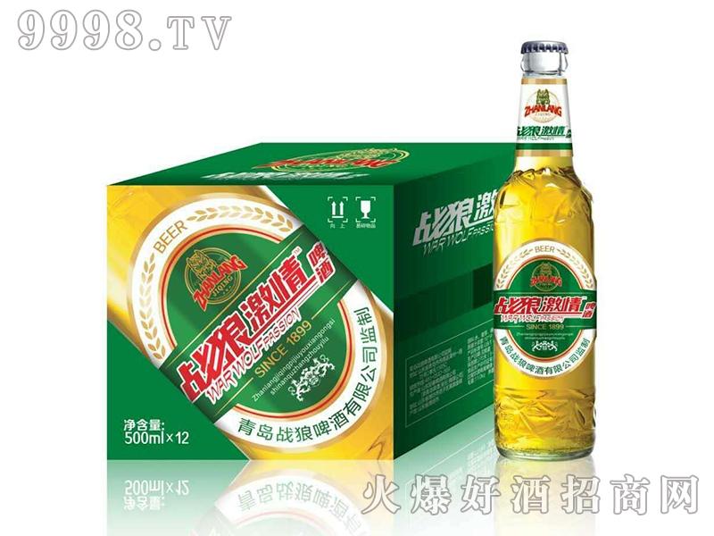 战狼激情啤酒・500ml瓶装