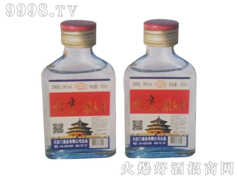 北京二锅头酒100mlx40(白瓶)