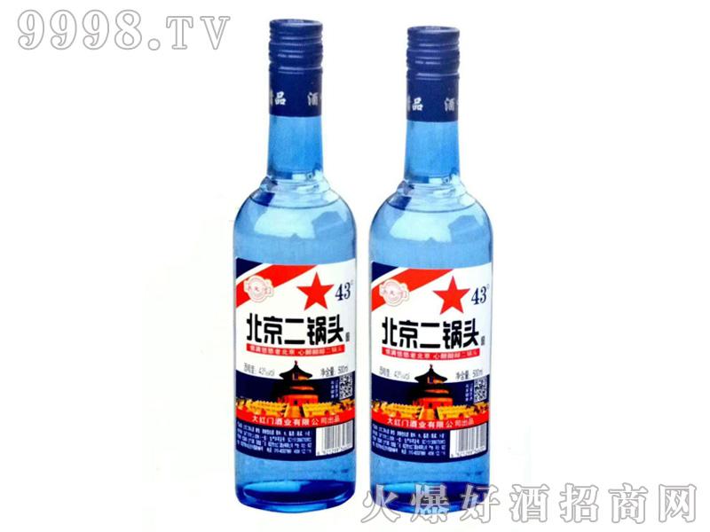 北京二锅头43度500mlx12(蓝瓶)